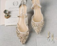 gold-beaded-wedding-shoes